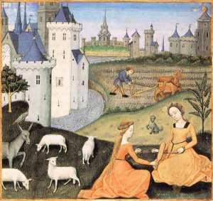 motif animallambs-maitre-de-charles-dangouleme-les-secrets-de-lhistoire-naturelle-contenant-les-merveilles-et-choses-memorables-du-monde-1485-paris